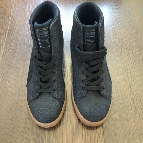 low priced b966f 14283 PUMA Men's Suede Mid Emboss FA Fashion Sneakers NWT